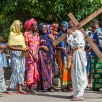 8th Station: Jesus meets the women of Jerusalem.