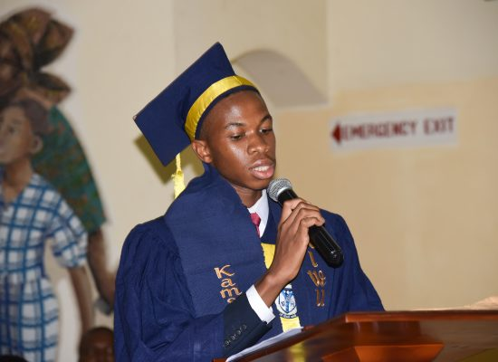 NWAIWU Kamsiyochi Chukwuemeka Ebenezer, LJC Valedictorian Class of 2019